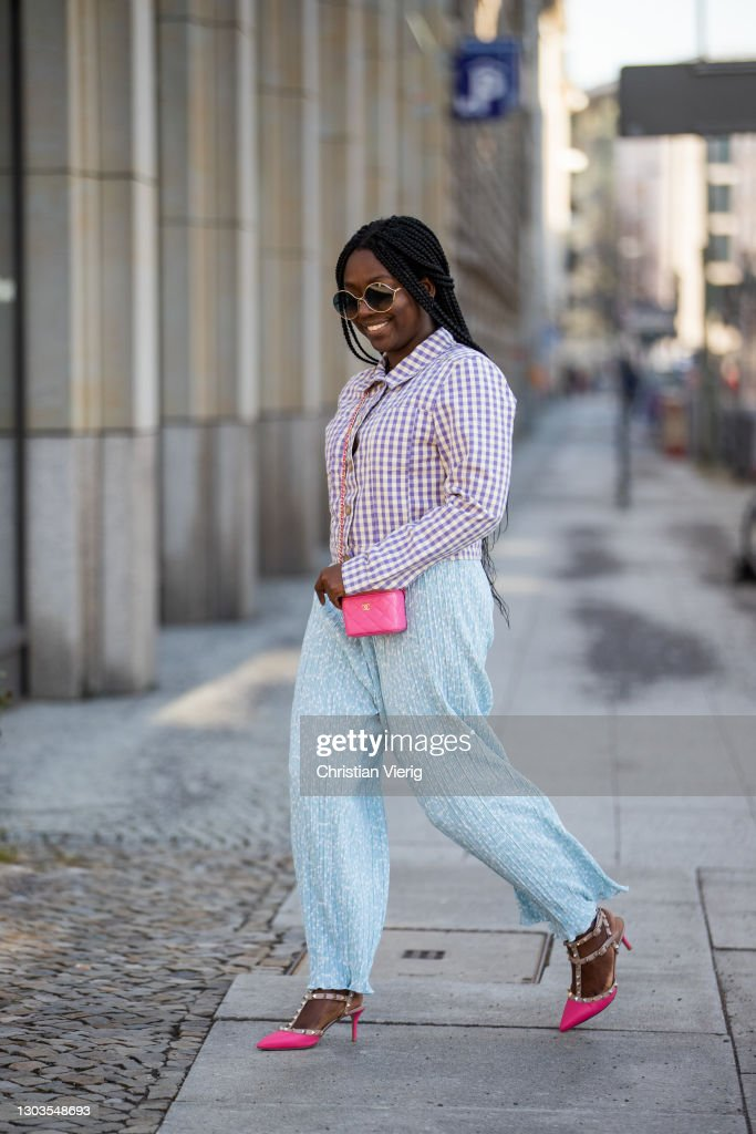Street Style - Berlin - February 22, 2021 : Photo d'actualité