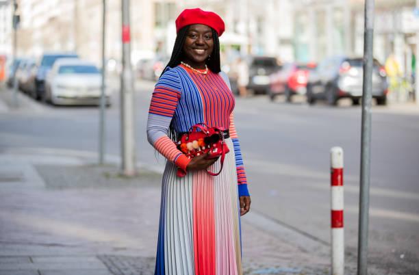 DEU: Street Style - Berlin - February 25, 2021