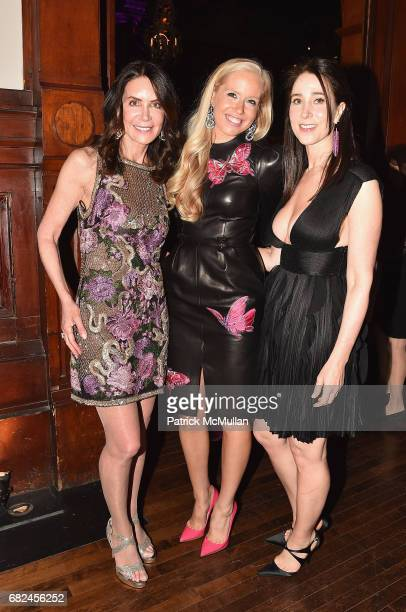 Lois Robbins Lisa Klein and Stacy Bronfman attend the 2017 Hot Pink Party Super Nova presented by the Breast Cancer Research Foundation at Park...