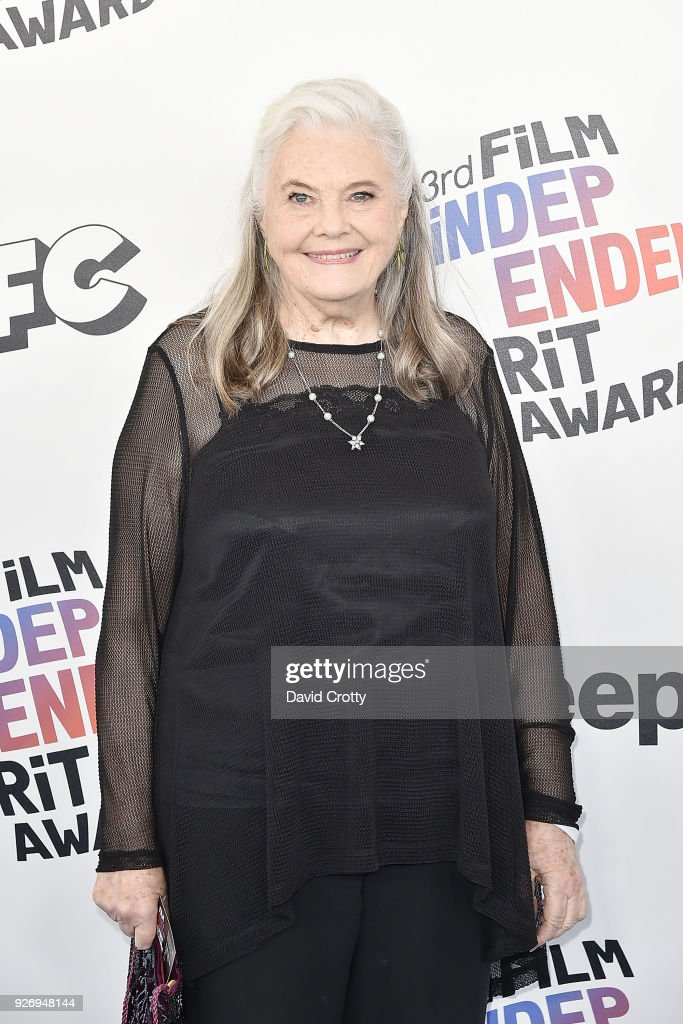 Lois Smith attends the 2018 Film Independent Spirit Awards - Arrivals on March 3, 2018 in Santa Monica, California.