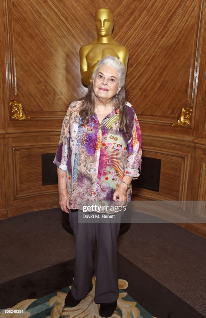 Lois Smith attends the Academy of Motion Picture Arts and Sciences Women In Film luncheon at Claridge's Hotel on October 6, 2017 in London, England.