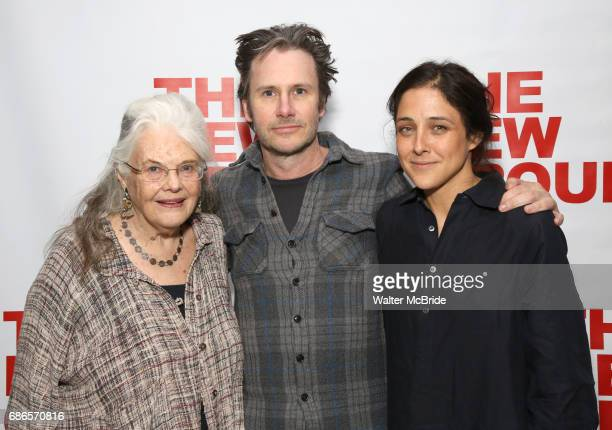 Lois Smith Josh Hamilton and Lily Thorne attend the New Group World Premiere of Hamish Linklater's 'The Whirligig' at Green Fig's Social Drink and...