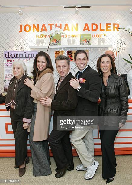 Lois Weisberg domino Magazine editor in chief Deborah Needleman author columnist Simon Doonan Jonathan Adler and vice president publisher of domino...