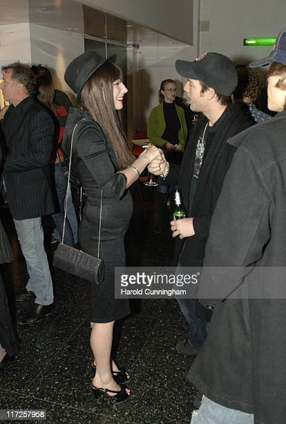 Lois Winstone and Sean Brosnan during Zone Horror's When Evil Calls Halloween Launch - October 31, 2006 at Institute of Contemporary Arts in London,...