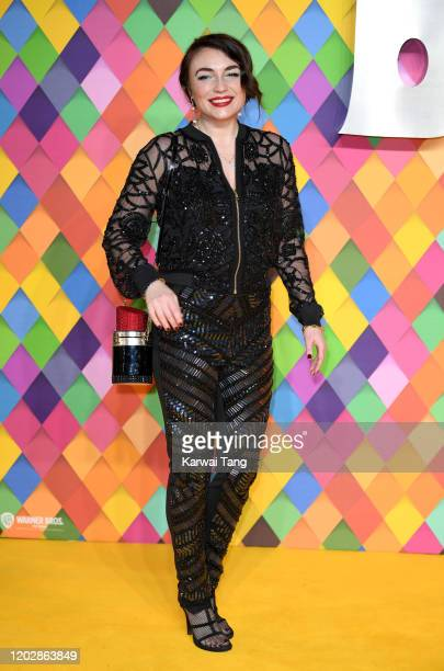 Lois Winstone attends the Birds of Prey And the Fantabulous Emancipation Of One Harley Quinn World Premiere at the BFI IMAX on January 29 2020 in...