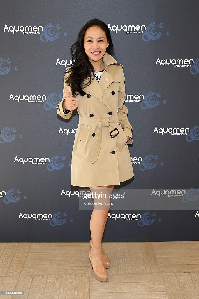 Lois Xu attends the 2014 Cannes Aquamen KONG Event At Mandala Beach / Cheri Cheri during the 67th Annual Cannes Film Festival at Mandala Beach on May 15, 2014 in Cannes, France.