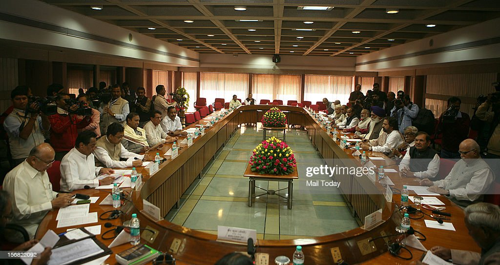 All Party Meeting : News Photo