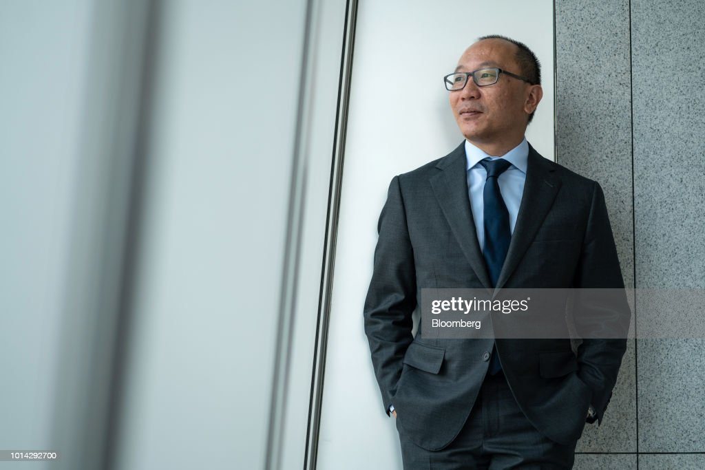 Lok Yim, head of Asia-Pacific wealth management at Deutsche Bank AG, poses for a photograph in Hong Kong, China, on Tuesday, Aug. 7, 2018. The private bank in Asia is still recruiting, even after bringing on board about 100 relationship managers and support staff in the first half, Yim said. Photographer: Anthony Kwan/Bloomberg via Getty Images