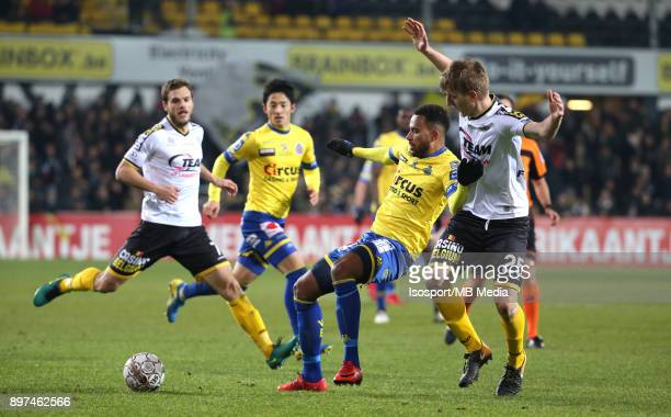 20171216 Lokeren Belgium / Sporting Lokeren v Waasland Beveren / 'nIsaac KIESE THELIN Jakov FILIPOVIC'nFootball Jupiler Pro League 2017 2018 Matchday...