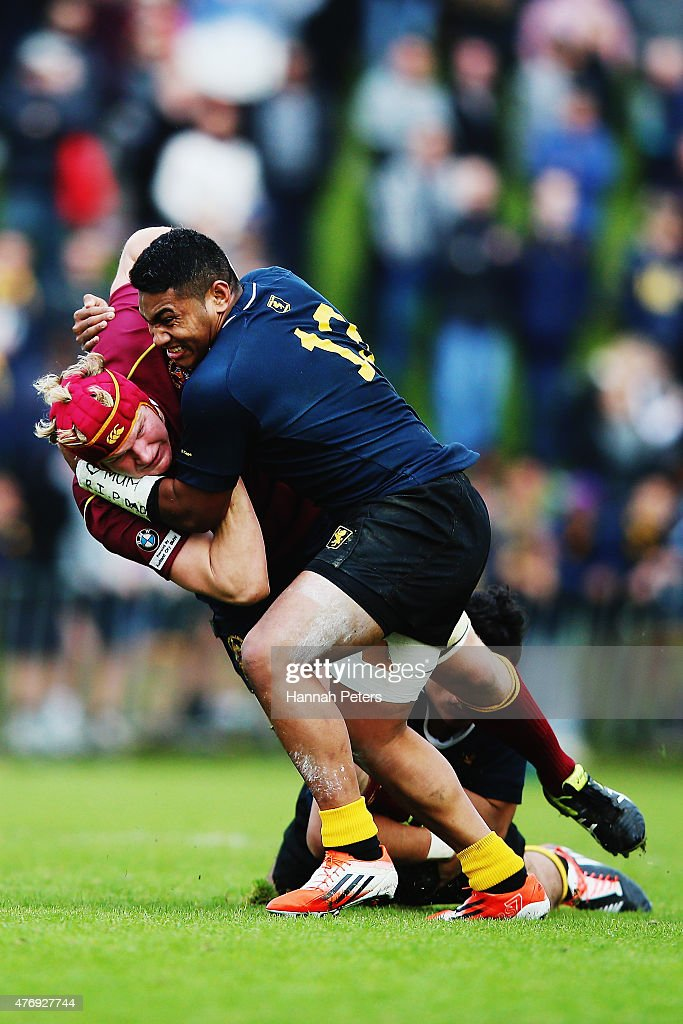 Schoolboy Rugby - Auckland Grammar vs King's 1st XV