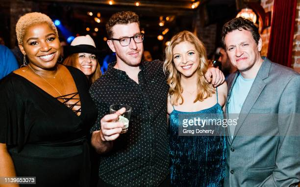 Lola Ajayi Patricia Chica Pascal CombesKnoke Hilary Barraford and Tom Malloy attend Hilary Barraford's Birthday Party held at Madame Siam on April 26...