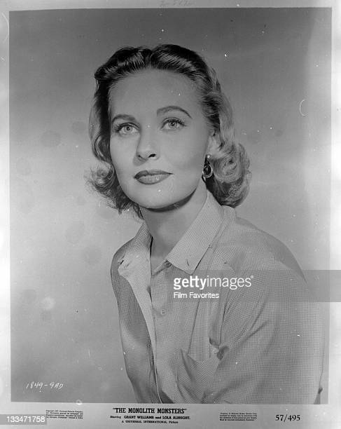 Lola Albright publicity portrait for the film 'The Monolith Monsters' 1957