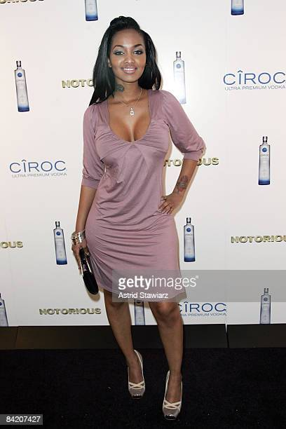 Lola attends the Notorious Premiere After Party Presented By Ciroc at Roseland Ballroom on January 7 2009 in New York City