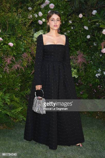 Lola Bessis attends the Valentino Haute Couture Fall Winter 2018/2019 show as part of Paris Fashion Week on July 4 2018 in Paris France