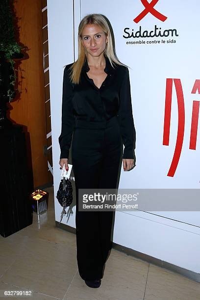 Lola BursteinRykiel attends the Sidaction Gala Dinner 2017 Haute Couture Spring Summer 2017 show as part of Paris Fashion Week on January 26 2017 in...