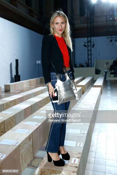Lola BursteinRykiel attends the Sonia Rykiel show as part of the Paris Fashion Week Womenswear Spring/Summer 2018 on September 30 2017 in Paris France
