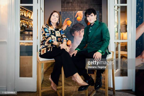 Lola Carretero and Alejandro Gomez Palomo also known as Palomo Spain attend 'Palomo Spain' Book presentation at Matador Club on May 29 2019 in Madrid...