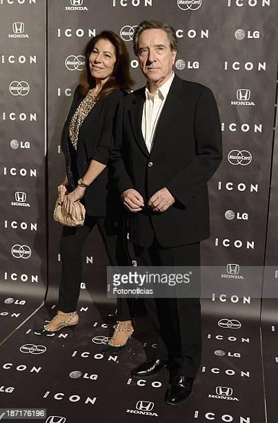 Lola Carretero and Inaki Gabilondo attend 'Icon' magazine launch party at the Circulo de Bellas Artes on November 6 2013 in Madrid Spain