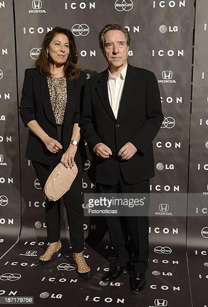 Lola Carretero and Inaki Gabilondo attends 'Icon' magazine launch party at the Circulo de Bellas Artes on November 6 2013 in Madrid Spain