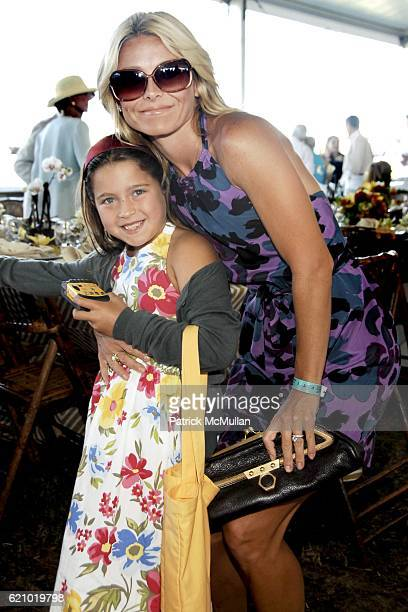 Lola Consuelos and Kelly Ripa attend SYBIL and DAVID YURMAN Host A Luncheon For GRAND PRIX SUNDAY at THE HAMPTON CLASSIC at Bridgehampton on August...