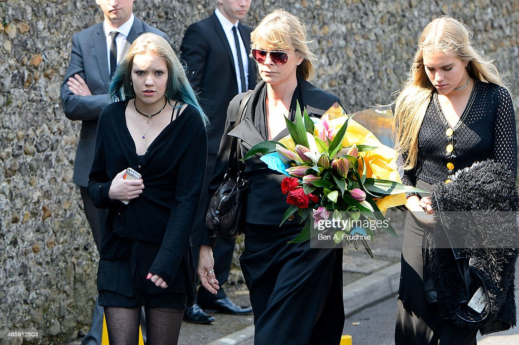 The Funeral Of Peaches Geldof : News Photo