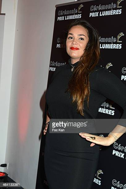Lola Dewaere attends 'Les Lumieres 2014' Cinema Awards 19th Ceremony at Espace Cardin on January 20 2014 in Paris France