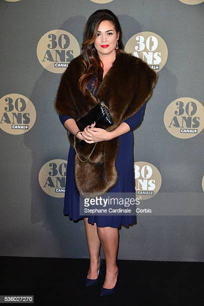 Lola Dewaere attends the 30 Th Anniversary of Canal at Palais de Tokyo in Paris