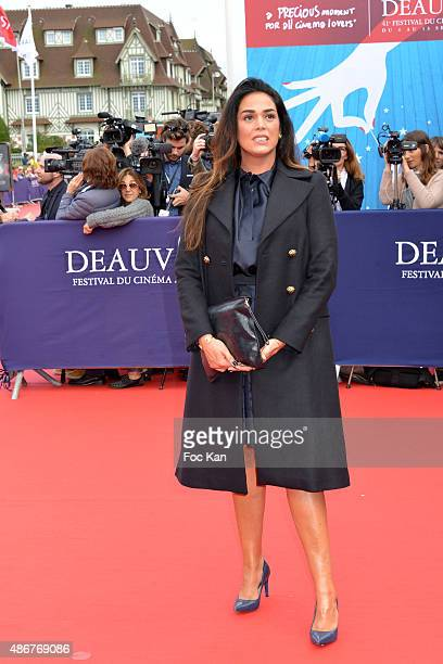 Lola Dewaere attends the 41st Deauville American Film Festival Opening Ceremony at the CID on September 4 2015 in Deauville France