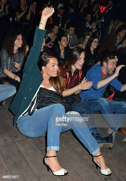 Lola Dewaere attends the 'HMan' TV Serial Release Party At The Bus Palladium on April 5 2014 in Paris France