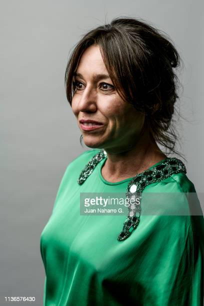 Lola Dueñas poses for a portrait session at Teatro Cervantes during 22nd Spanish Film Festival of Malaga on March 17 2019 in Malaga Spain