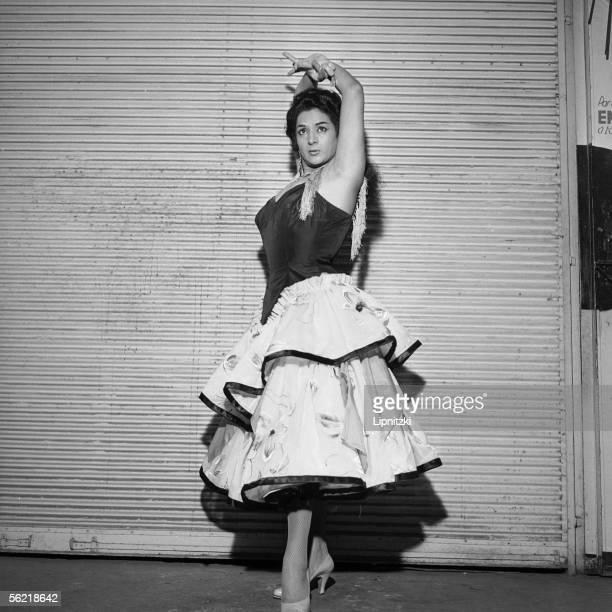 Lola Flores Spanish singer and dancer Paris Olympia january 1960