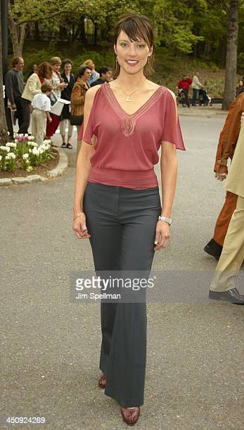 Lola Glaudini during 20032004 CBS Upfront After Party at Tavern on the Green in New York City New York United States