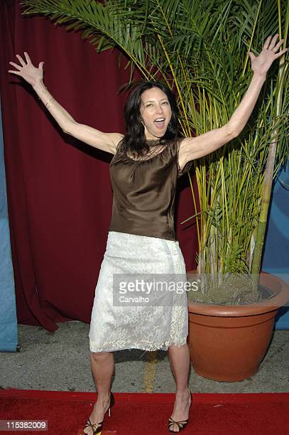 Lola Glaudini during 2005/2006 CBS Prime Time UpFront at Tavern on the Green Central Park in New York City New York United States