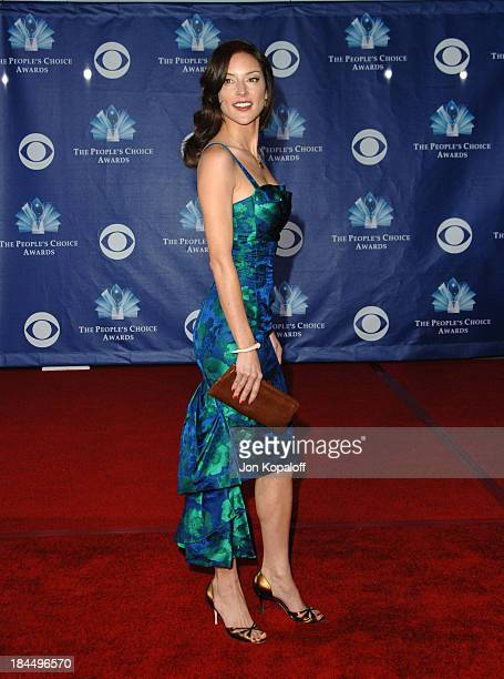 Lola Glaudini during 32nd Annual People's Choice Awards Arrivals at Shrine Auditorium in Los Angeles California United States