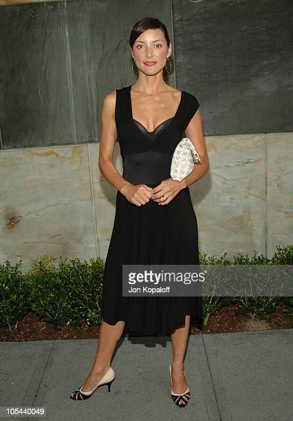 Lola Glaudini during CBS Summer 2005 Press Tour Party at Hammer Museum in Westwood California United States