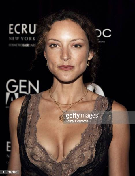 Lola Glaudini during Gen Art's Eighth Annual Styles International Design Competition 2006 Arrivals and Front Row at Hammerstein Ballroom in New York...