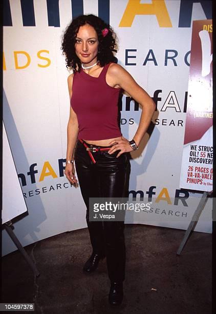 Lola Glaudini during Sundance Film Festival 2000 amfARInterview Magazine Party at Kimball Art Center in Park City Utah United States