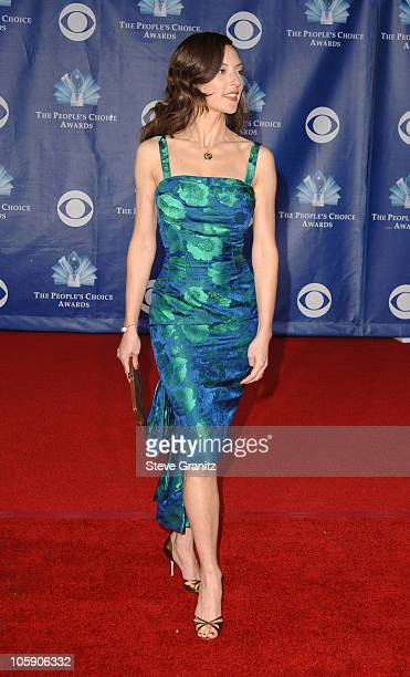 Lola Glaudini during The 32nd Annual People's Choice Awards - Arrivals at Shrine Auditorium in Los Angeles, California, United States.