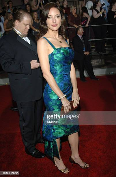 Lola Glaudini during The 32nd Annual People's Choice Awards Red Carpet at Shrine Auditorium in Los Angeles California United States
