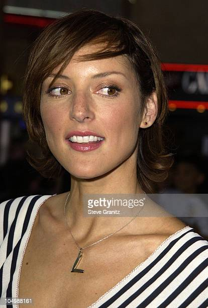 Lola Glaudini during The Tuxedo Premiere Los Angeles at Mann's Chinese Theatre in Hollywood California United States