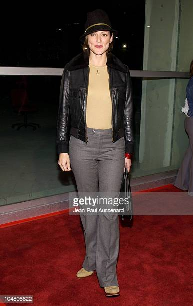 Lola Glaudini during Welcome To Collinwood Premiere at Cinerama Dome in Hollywood California United States