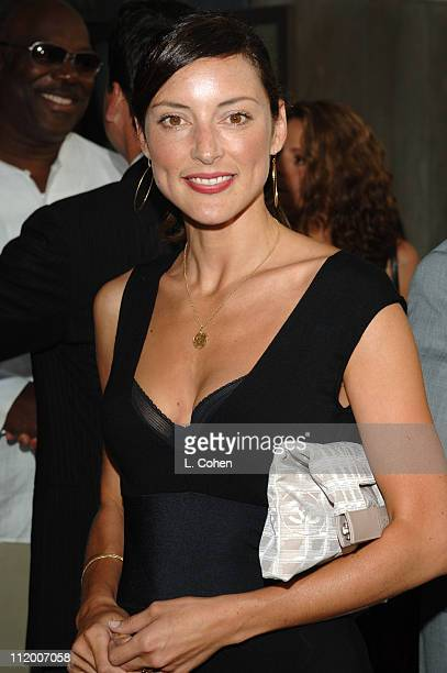 Lola Glaudini of Criminal Minds during CBS 2005 TCA Party Red Carpet at Hammer Museum in Los Angeles California United States