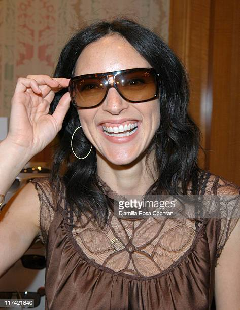 Lola Glaudini wearing Burburry 8451S Sunglasses during Solstice Sunglass Boutique at the Lucky/Cargo Club Day 3 at Ritz Carlton in New York City New...