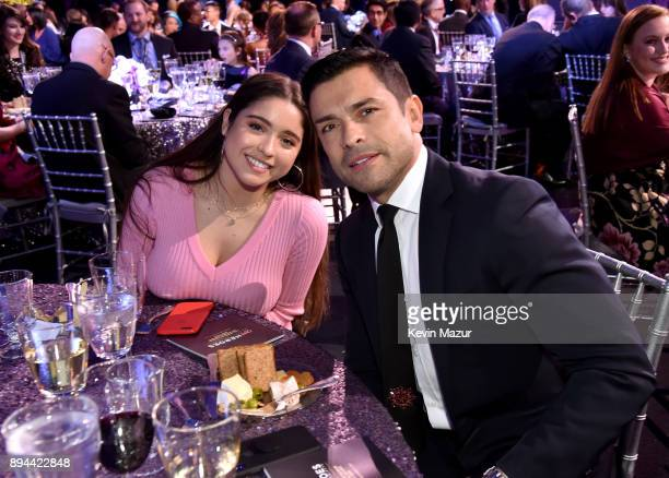 Lola Grace Consuelos and Mark Consuelos attend CNN Heroes 2017 at the American Museum of Natural History on December 17 2017 in New York City...