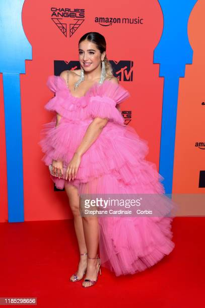 Lola Indigo attends the MTV EMAs 2019 at FIBES Conference and Exhibition Centre on November 03, 2019 in Seville, Spain.