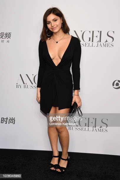 Lola James attends the 'ANGELS' by Russell James book launch and exhibit hosted by Cindy Crawford and Candice Swanepoel at Stephan Weiss Studio on...