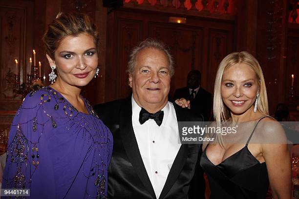 Lola Karimova Massimo Gargia and Ornella Mutti attend 'The Best Awards 2009' hosted by Massimo Gargia at Salon Hoche on December 14 2009 in Paris...