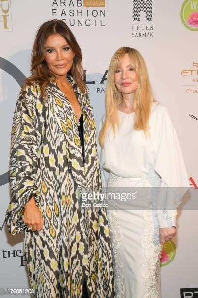 Lola KarimovaTillyaeva and Founder of Fashion 4 Development Evie Evangelou attend Fashion 4 Development's 9th Annual Official First Ladies Luncheon...