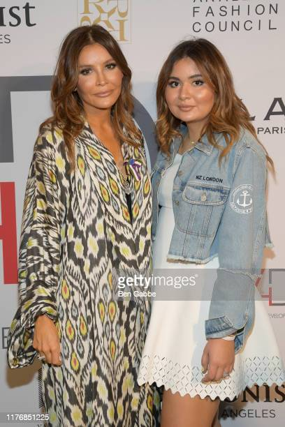 Lola KarimovaTillyaeva and Mariam Tillyaeva attend Fashion 4 Development's 9th Annual Official First Ladies Luncheon at The Pierre Hotel on September...