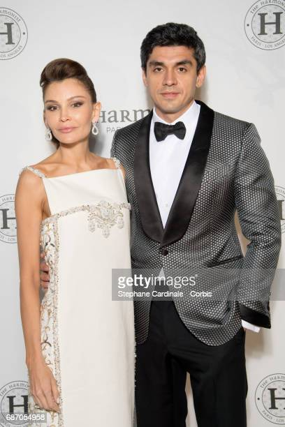 Lola KarimovaTillyaeva and Timur Tillyaev attend The Harmonist Party during the 70th annual Cannes Film Festival at on May 22 2017 in Cannes France